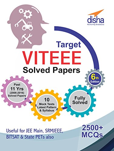 Target VITEEE (11 Years Solved Papers, 2006-2016/10 Mock Tests)