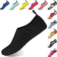 e55c2ec6834 BIGU Zapatos de Agua Aqua Yoga para Mujer Hombre Niños Descalzo Piel  Calcetines de Buceo Natación