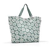 Reisenthel Shopper XL Bloomy, Polyester, Mint Grün, 68 x 45 cm