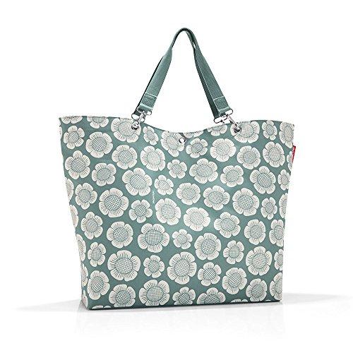 L Bloomy, Polyester, Mint Grün, 68 x 45 cm (Mint-grün-dekor)