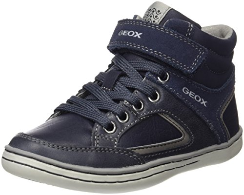 Geox Jungen Jr Garcia Boy A High-Top Blau (Navy/Greyc0661)