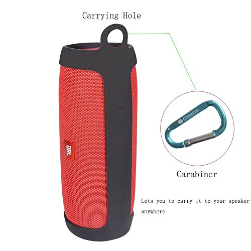 JBL Charge 3 Taschen & Schalen Travel Carry Pouch Sleeve Portable Protective Box Cover Bag Cover Case for JBL Charge 3 Bluetooth Portable Speaker System Storage Box (Black) Bluetooth Portable Speaker System