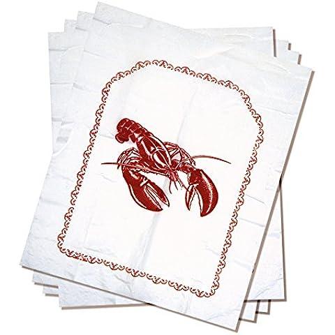 Norpro Lobster Disposable Bibs Crab Seafood Clambake Set Of 4 15