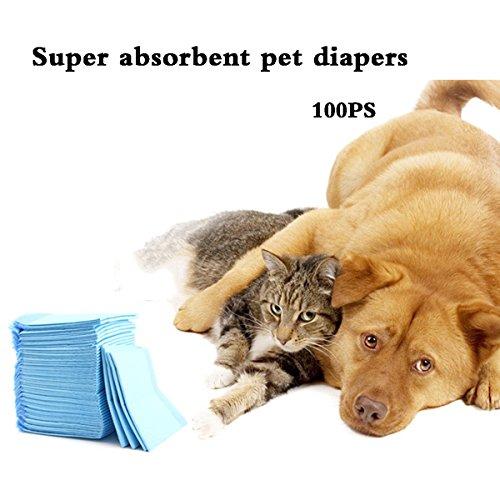 shanzhizui Deodorant Zitrone Weihrauch Haustier-Pad Windeln für Hunde Inkontinenzwindeln für Hunde, L -