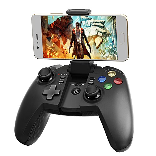 Tronsmart G02 Bluetooth Controller, Android Gamepad Controller, Wireless Joystick für Android Smartphone, PS3, PC Computer, TV Box, Smart TV - Schwarz Bluetooth-gamepad Pc