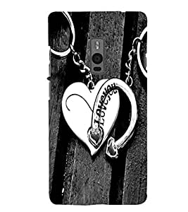 Love you Back Case Cover for One Plus Two::One Plus 2::One+2