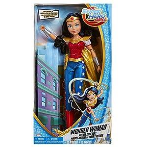 DC Comics - Muñeca de acción para niñas Wonder Woman