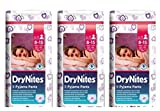 3 X Windeln Höschen Huggies drynites JUMBO girl Windel dry Nites 8 - 15