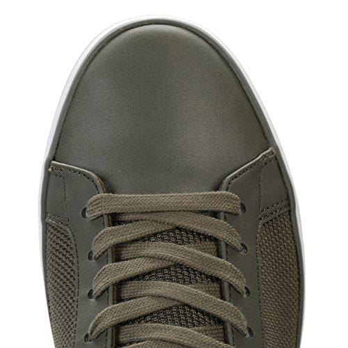Lacoste Uomo Grigio Lerond 117 3 CAM Sneaker Verde