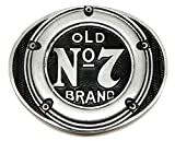 Jack Daniels Gürtelschnalle - Gasbrennstoff Deckel Design - Old Nr. 7 Brand - Offiziell Lizenziertes Markenprodukt