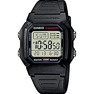 Casio Collection W-800H-1AVES, Reloj Digital Unisex, Negro (B000VE5XL6) | Amazon price tracker / tracking, Amazon price history charts, Amazon price watches, Amazon price drop alerts