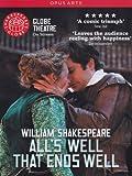 Shakespeare: All's Well That Ends Well (Michael Bertenshaw/ Sam Cox/ Sam Crane/ Naomi Cranston) [Globe on Screen] [DVD] [2012] [NTSC]