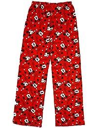 Niña Disney Minnie Mouse Algodón Pantalones De Andar Por Casa Pantalón De Pijama tallas desde 7 a 13 Años