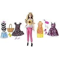 Barbie - Juego de regalo para muñeca con pasaporte rosa
