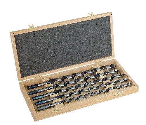 ENT 41202 Schlangenbohrer Set 6-teilig WS, Durchmesser (D) 6-10-12-16-20-24 mm, NL 250 mm, GL 320 mm