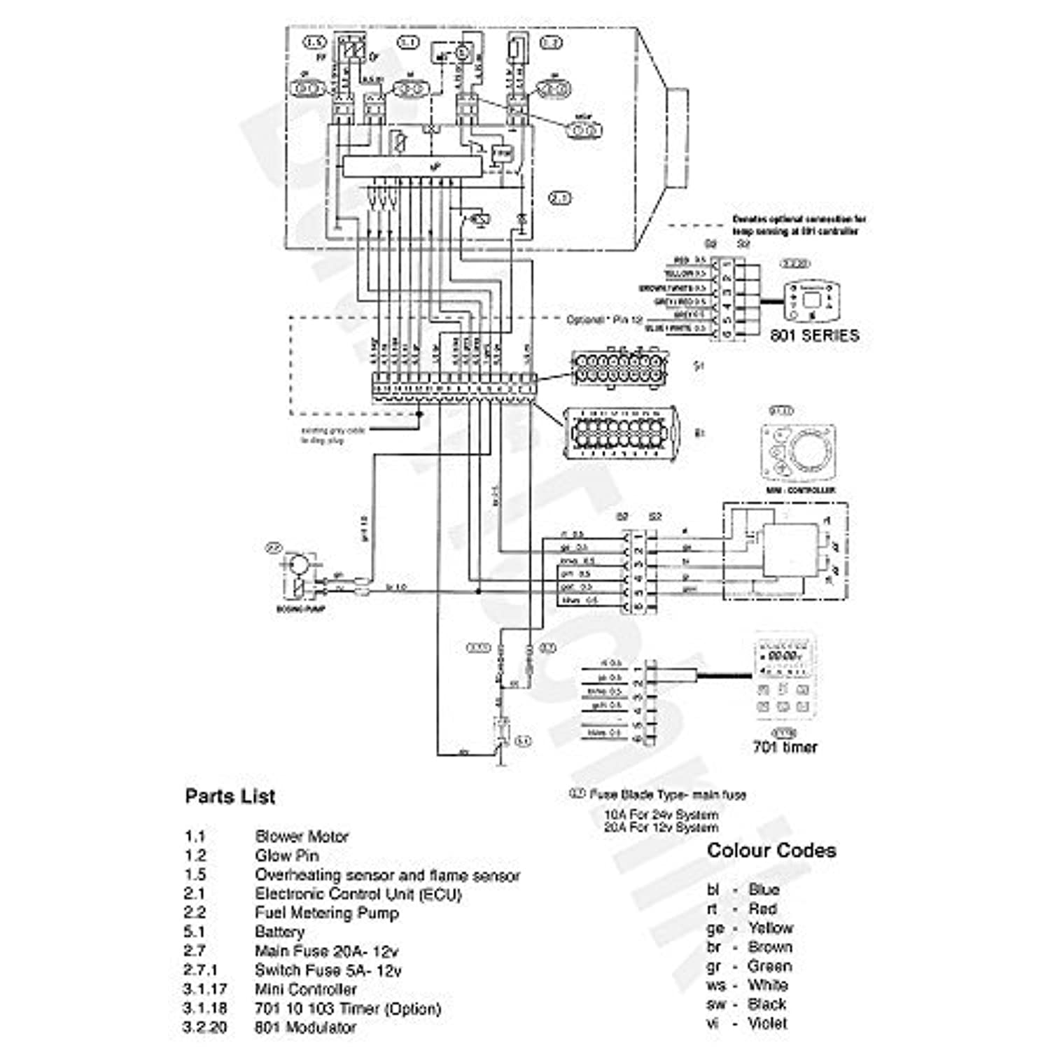eberspacher airtronic heater 801 temperature controller with rh kiavu be  Control Wiring Diagram Symbols Control Panel