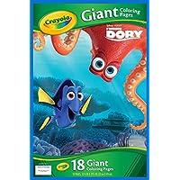 Buscando a Dory Páginas gigantes para colorear (Crayola ...