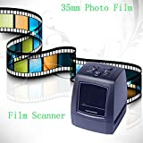 CALDIPREE 5MP 10MP 35mm Portable SD Card Film scan Photo Scanners Negative Film