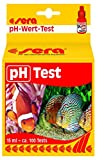 Sera 04310 pH Test, Wassertest für ca. 100 Messungen, misst zuverlässig und genau den Säuregehalt, für Süß- & Meerwasser, im Aquarium oder Teich