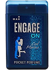 Engage ON Cool Marine Pocket Perfume for Man, 18.4ml