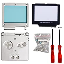 Timorn Full behuizing Shell Case Cover Screen Protector deel Tri-Wing Kruis schroevendraaier reparatie voor Nintendo Gameboy Advance SP GBA SP