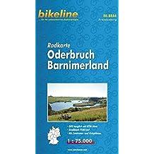 bikeline - Radkarte Oderbruch Barnimerland (BRA4), GPS-tauglich mit UTM-Netz