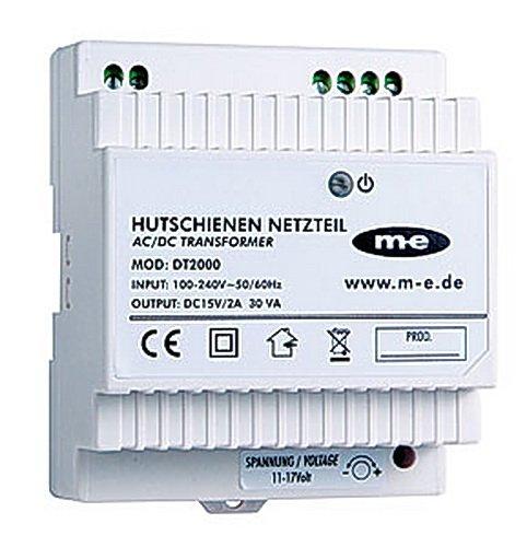 m-e dt-2000Elektronisches Netzteil zur Befestigung auf DIN-Schienen