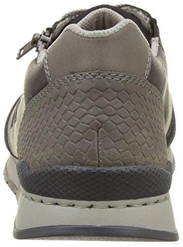 Rieker 19401, Sneakers Basses Homme Bleu (Pazifik/ozean/polvere)