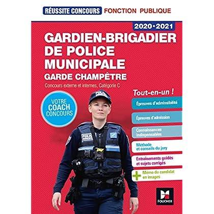 Réussite Concours - Gardien-brigadier de police municipale - 2020-2021 - Preparation complète