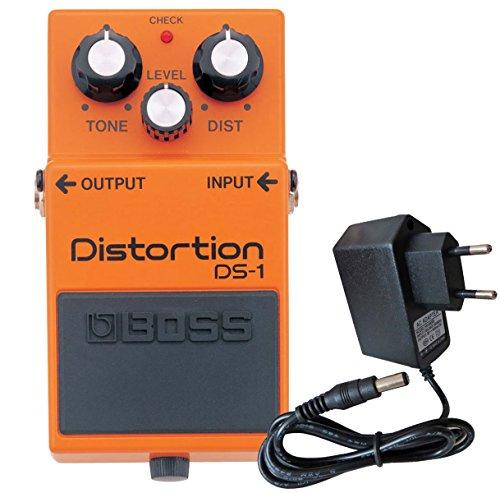 Boss DS-1 Distortion Pedal + keepdrum 9V Netzteil (Boss Guitar Pedal Overdrive)