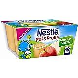 Nestlé p'tits fruits pomme poire 4x100g dès 6 mois - ( Prix Unitaire ) - Envoi Rapide Et Soignée