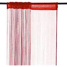 Smartfox–Cortina de hilos (cortina de hilos (Store cortina hilos múltiples tamaño y colores