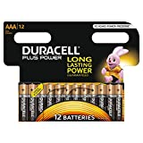 Duracell Plus LR03/MN2400 Power Typ AAA Alkaline Batterien, 12er Pack