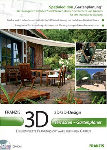 3D Terrassen – Gartenplaner