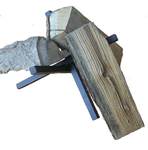 Stabiler Feuerbock (Material: 15 x 15 mm, naturbelassen!), B x T x H: 24 x 28 x 19 cm
