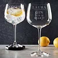 Personalised Gin Goblet/Engraved Gin Balloon/Gin Lovers Gifts For Women/Funny 30th Birthday Gifts/Best Friend Gifts For Women/Gin Related Gifts/Funny Gin Gifts