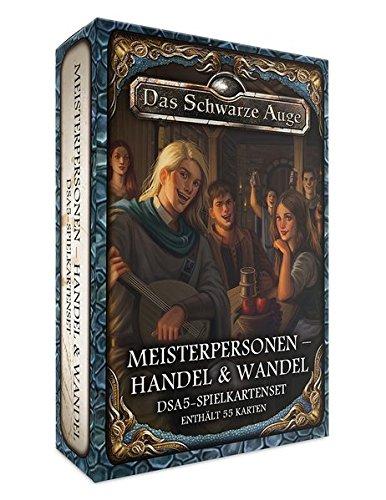 dsa5 spielkartenset DSA5-Spielkartenset Aventurische Meisterpersonen – Handel & Wandel (Das Schwarze Auge - Zubehör)