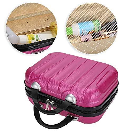 Kosmetiktasche, Reisewerkzeug Organizer Tragbarer Kosmetikkoffer Wasserdichte Aufbewahrungsbox für Friseurwerkzeug für Kosmetik-Make-up-Pinsel Kulturschmuck oder digitales Zubehör
