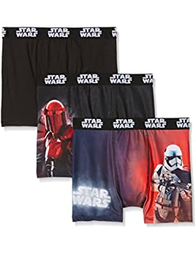 Star Wars Boxer, Shorts para Niños (Pack de 3)