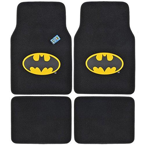 BDK Automatten mit Batman-Logo, für vorne und hinten