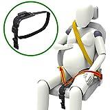inturón de Seguridad, de maternidad cinturón ajustable para Embarazadas, Comodidad y Seguridad para Futuras Mamás, Protege a Tu bebé por nacer, Un Imprescindible para las Embarazadas, de ZUWIT (Negro)