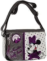 Disney 3085151  Schultertasche Minnie Umhängetasche, Weiß