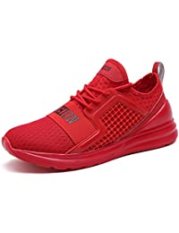 VITIKE Ashion Herren Ausbildung Schuhe Mesh Atmungsaktiv Turnschuhe Fitness Leicht Sport Laufen Schuhe