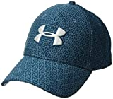 Under Armour Herren Printed Blitzing 3.0 Kappe, Static Blue/Techno Teal/Elemental, XL/XXL