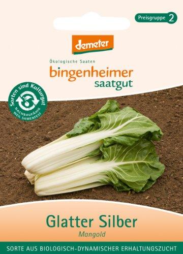 Bingenheimer Saatgut - Mangold Glatter Silber - Gemüse Saatgut / Samen