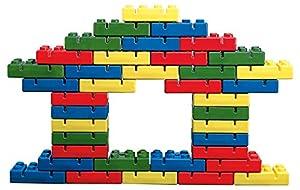 Italveneta Didattica 019-Ladrillos para niños, Rojo/Amarillo/Azul/Verde