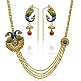 Shining Diva Traditional Gold Plated Fou...
