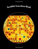 Scrabble Scoresheet Book: 200 Pages (100 sheets)