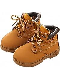 3cca8d1757028 BenSports Botas de Nieve para niños, Botas Calientes de Inglaterra Martin  Botas de Invierno Zapatos