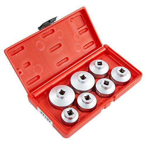 OEMTOOLS 27197 3/8 Zoll Antrieb Ölfilter Demontage Steckschlüsselsatz, 7-teilig